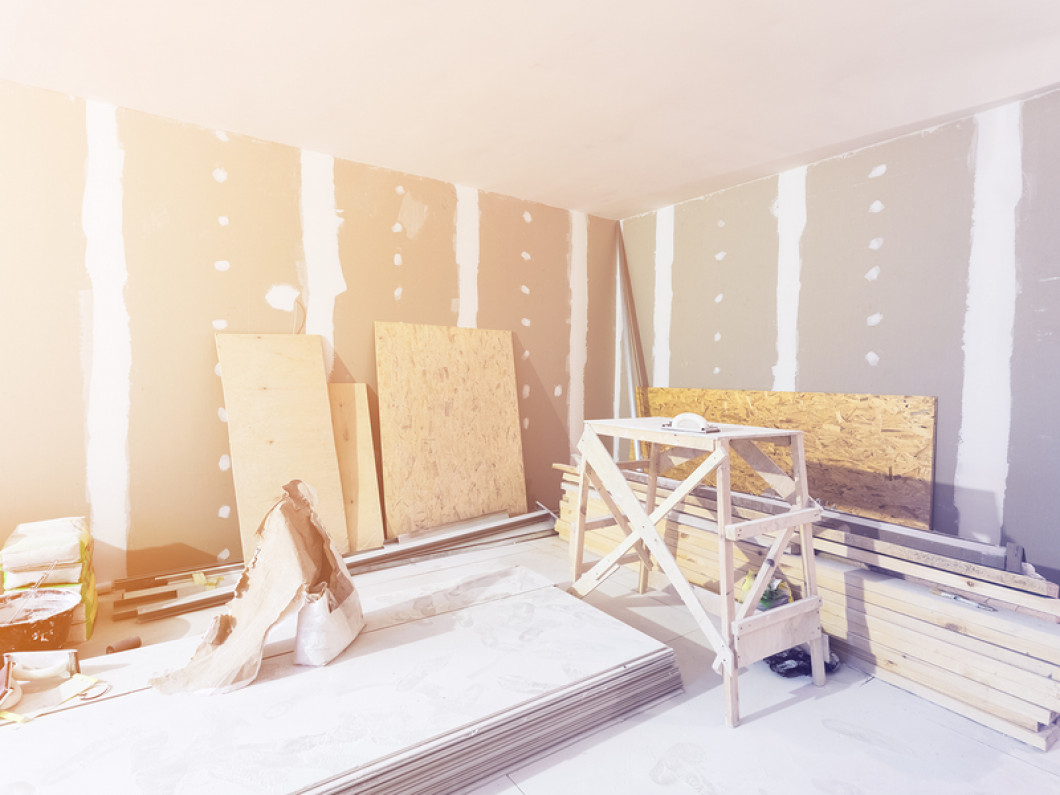 Make sure you get the right type of drywall